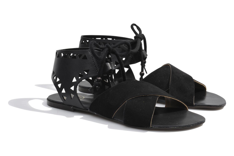 Sandals Made by SARENZA Nairobi #2 Black back view