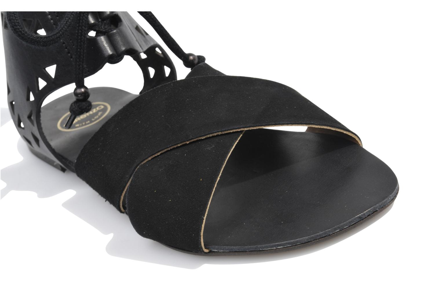 Sandals Made by SARENZA Nairobi #2 Black view from above