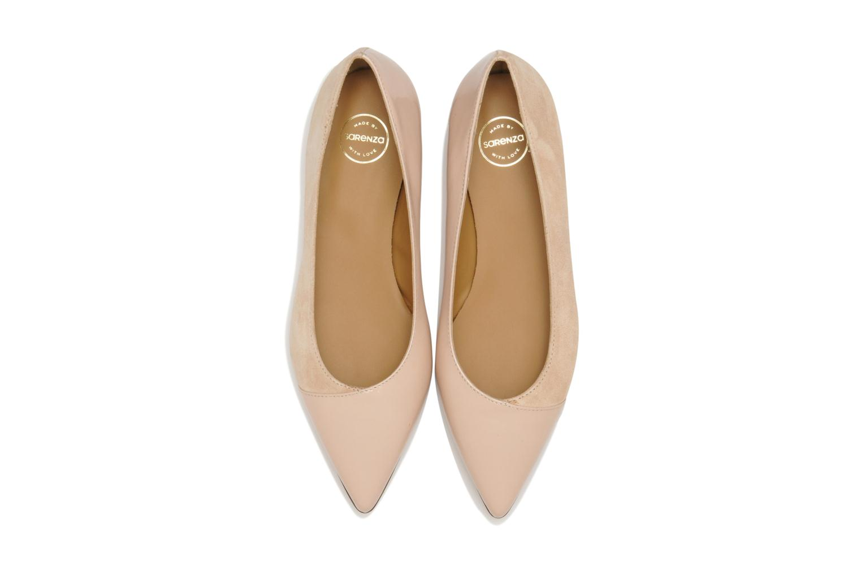 Ballerines Made by SARENZA Roudoudou #14 Beige vue portées chaussures