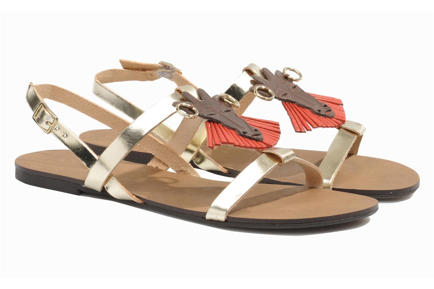 Sandals Made by SARENZA Nairobi #5 Multicolor back view