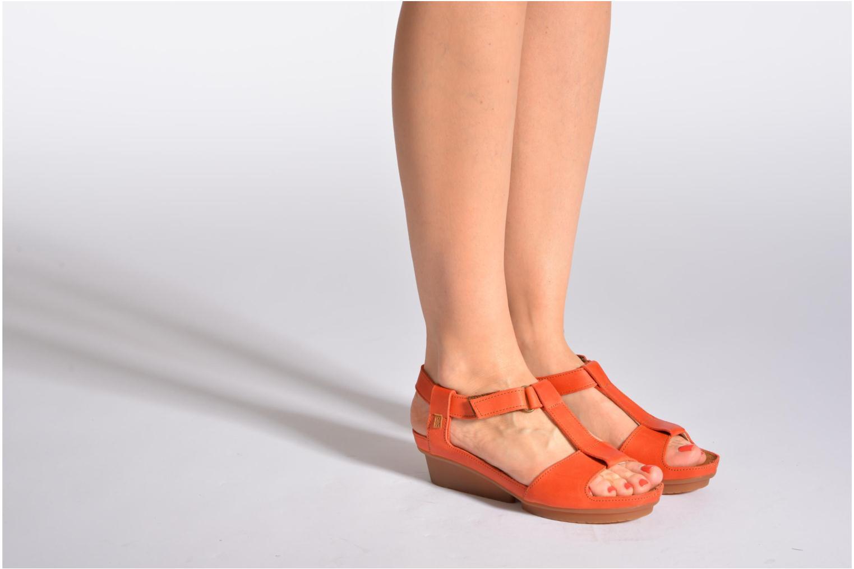 Sandales et nu-pieds El Naturalista Code ND21 Marron vue bas / vue portée sac
