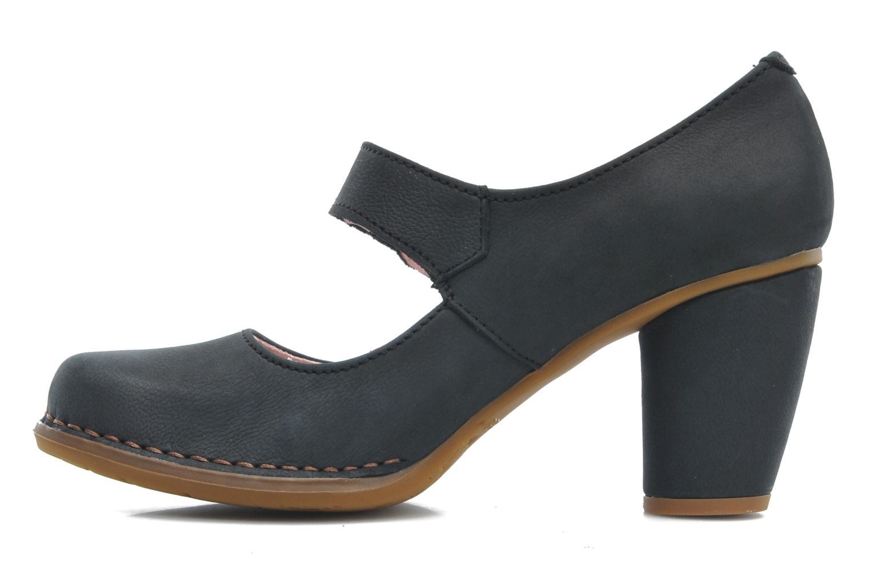 Zapatos de tacón El Naturalista Colibri N466 Negro vista de frente