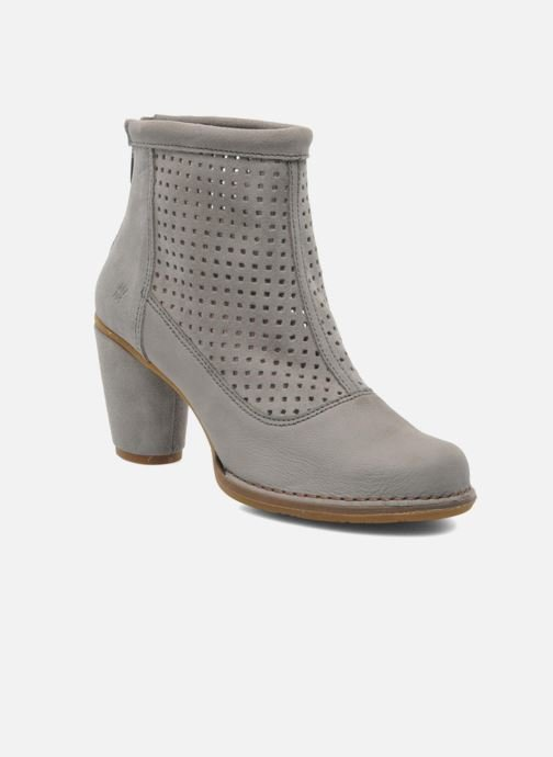 Ankle boots El Naturalista Colibri N467 Grey detailed view/ Pair view