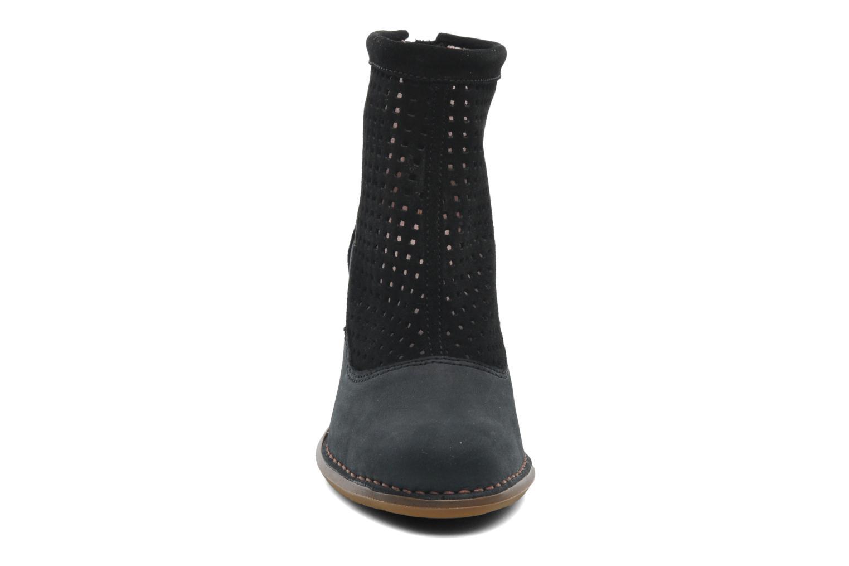 Bottines et boots El Naturalista Colibri N467 Noir vue portées chaussures
