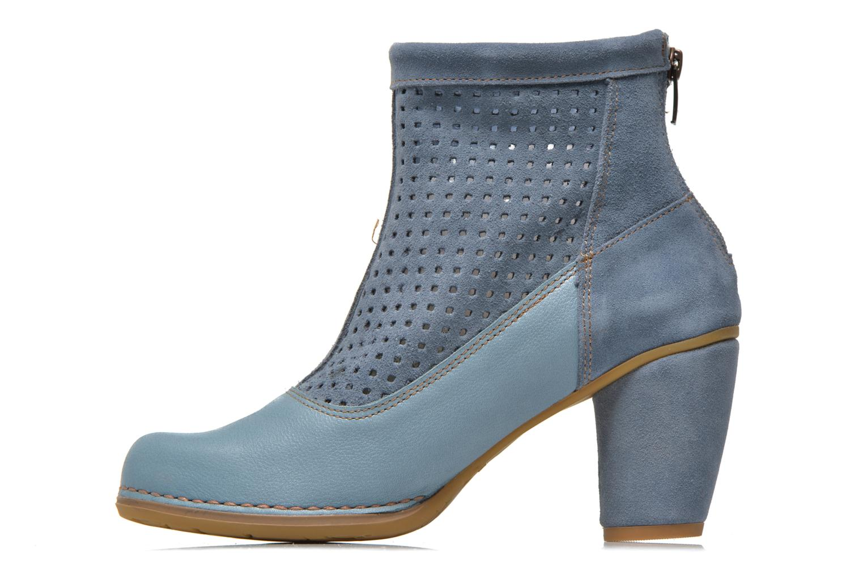 Ankle boots El Naturalista Colibri N467 Blue front view