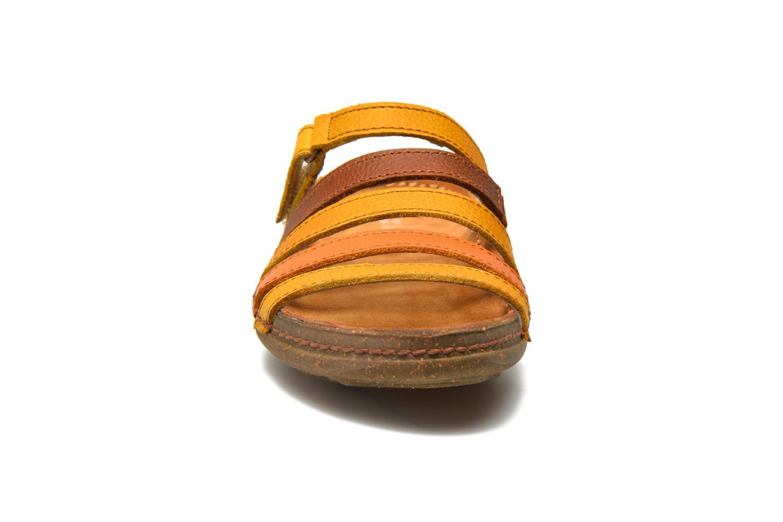 Mules et sabots El Naturalista Torcal N327 Multicolore vue portées chaussures