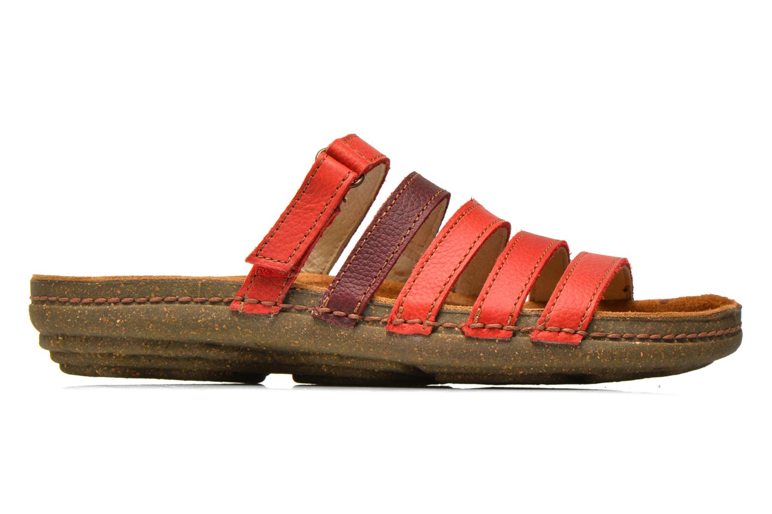 Mules & clogs El Naturalista Torcal N327 Red back view