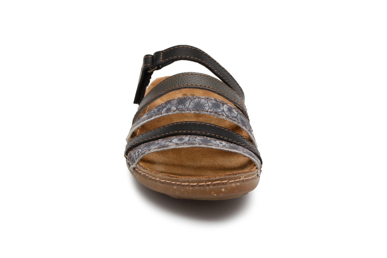 Mules et sabots El Naturalista Torcal N327 Noir vue portées chaussures