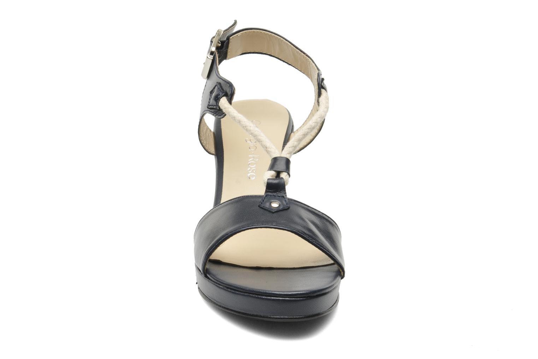 Sandales et nu-pieds Georgia Rose Sarty Bleu vue portées chaussures