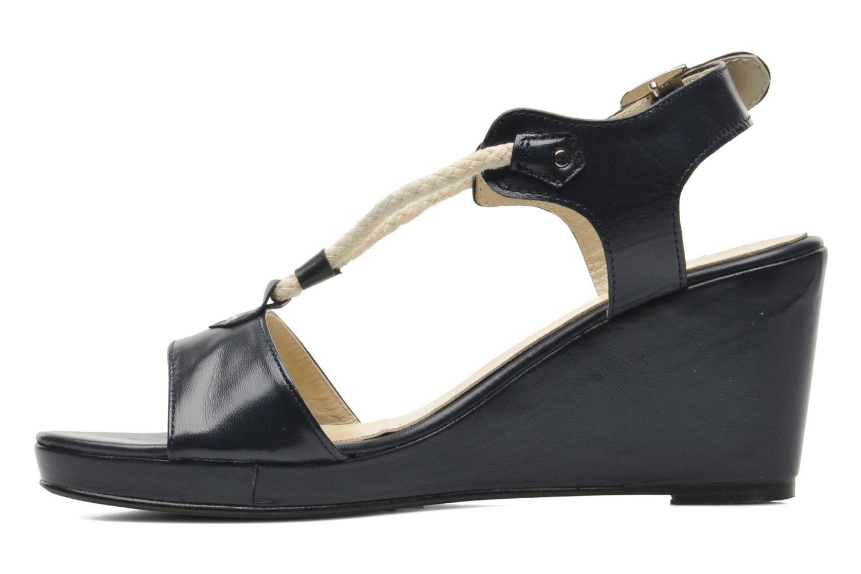 Sandales et nu-pieds Georgia Rose Sarty Bleu vue face