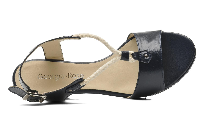 Sandales et nu-pieds Georgia Rose Sarty Bleu vue gauche
