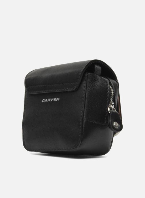 Bolsos de mano Carven SAINT SULPICE Mini boîte Negro vista de frente