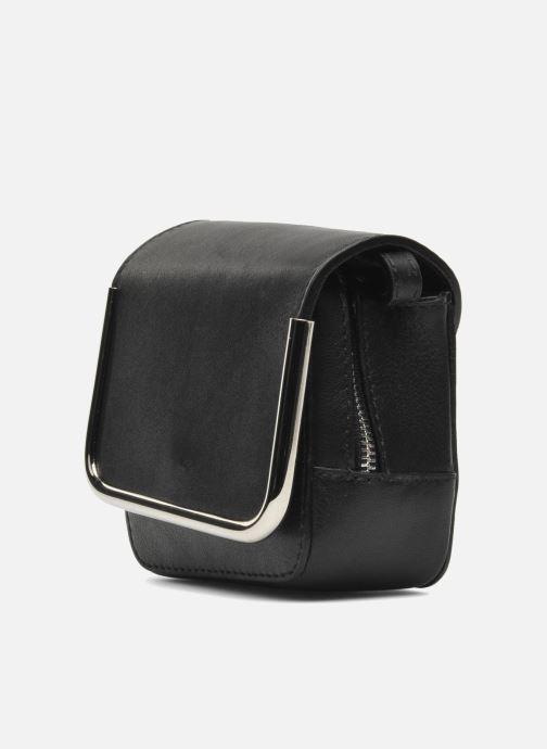 Bolsos de mano Carven SAINT SULPICE Mini boîte Negro vista lateral derecha