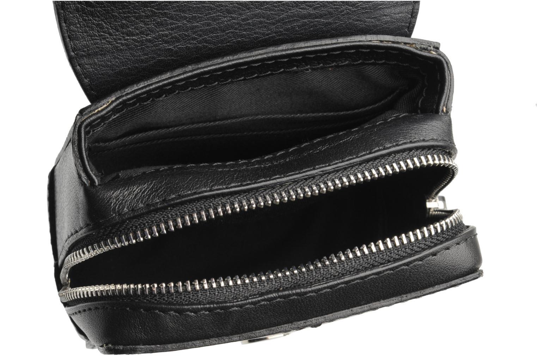Handbags Carven SAINT SULPICE Mini boîte Black back view