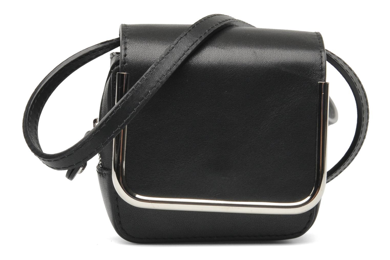 Sacs à main Carven SAINT SULPICE Mini boîte Noir vue détail/paire