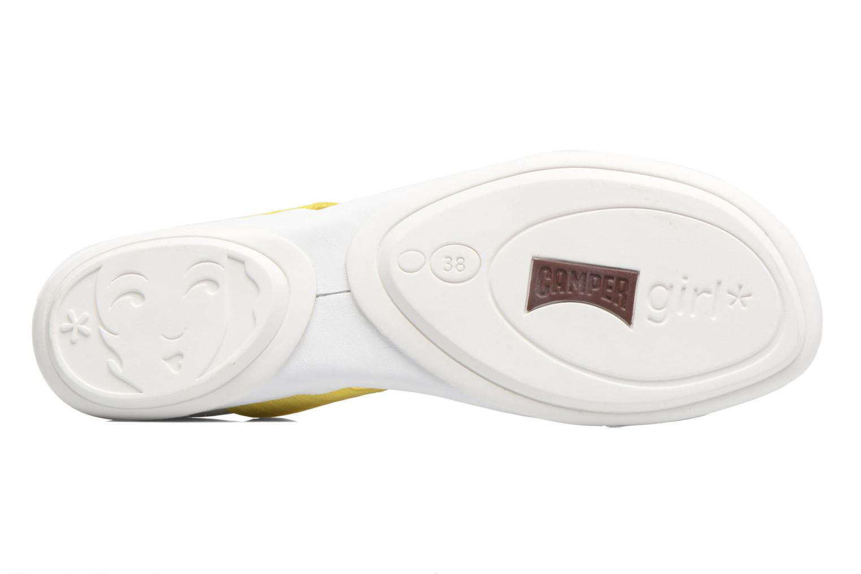 Sandales et nu-pieds Camper Right Nina 21735 Blanc vue haut