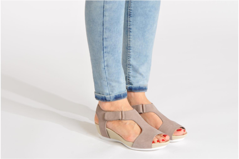 Sandales et nu-pieds Camper Micro 22556 Beige vue bas / vue portée sac