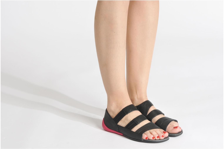 Sandales et nu-pieds Camper Peu Circuit 22114 Multicolore vue bas / vue portée sac