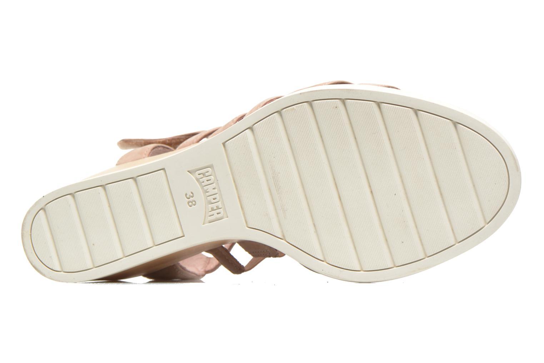 Sandales et nu-pieds Camper Limi 22613 Beige vue haut