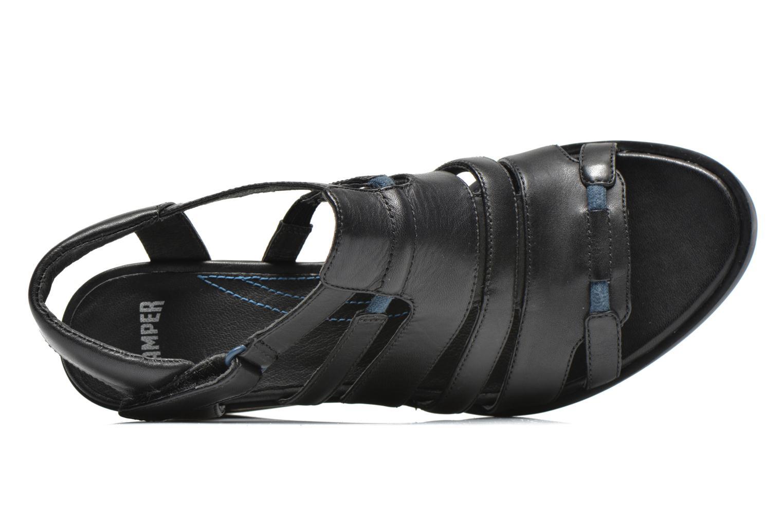 Sandales et nu-pieds Camper Limi 22613 Noir vue gauche