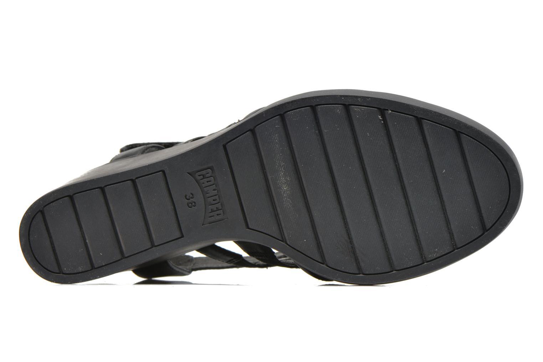 Sandales et nu-pieds Camper Limi 22613 Noir vue haut