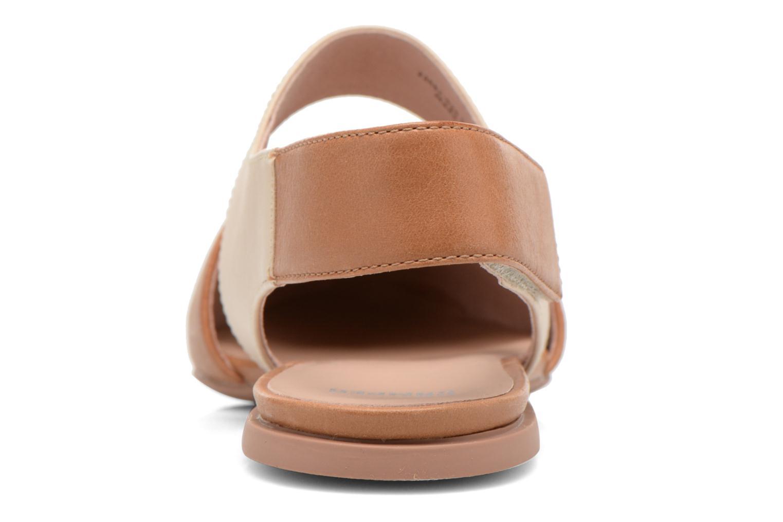 Sandales et nu-pieds Camper Isadora 22561 Beige vue droite