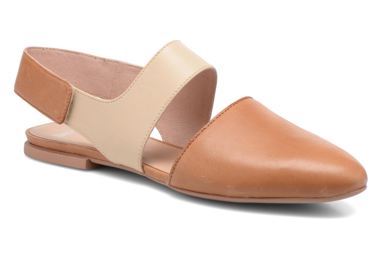 Sandales et nu-pieds Camper Isadora 22561 Beige vue détail/paire