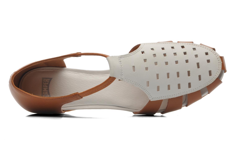 Sandales et nu-pieds Camper TWS 22603 Marron vue gauche