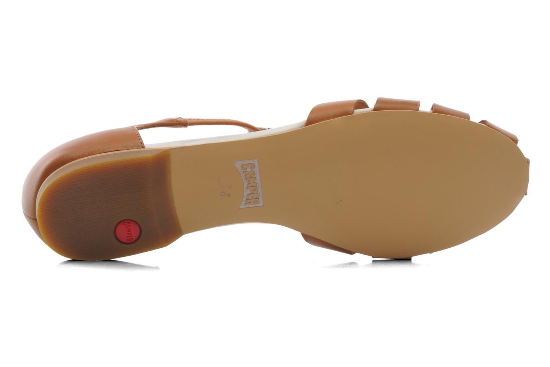 Sandales et nu-pieds Camper TWS 22603 Marron vue haut