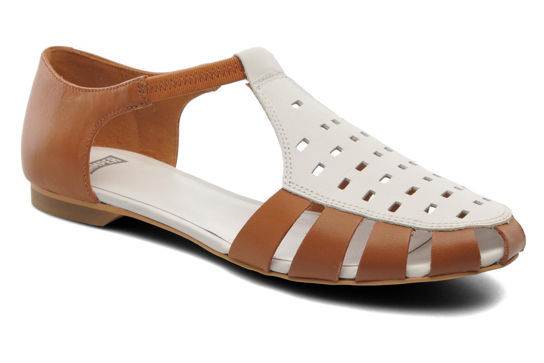 Sandales et nu-pieds Camper TWS 22603 Marron vue détail/paire