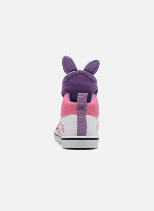 Sneakers Feiyue Delta Mid Animal Wit rechts