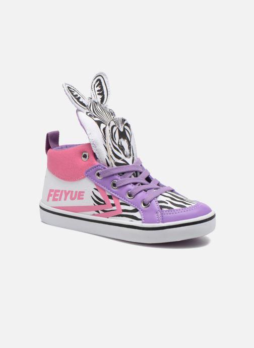 Sneakers Feiyue Delta Mid Animal Wit detail
