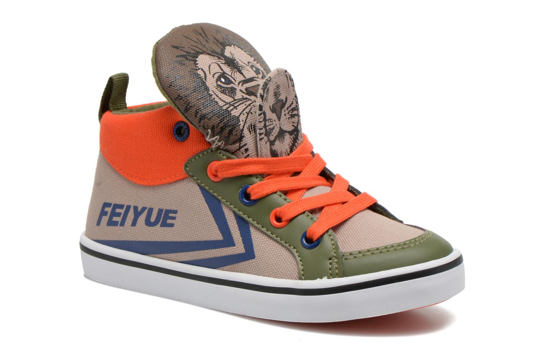 354baac55d3 Feiyue Delta Mid Animal (Beige) - Sneakers chez Sarenza (253582)