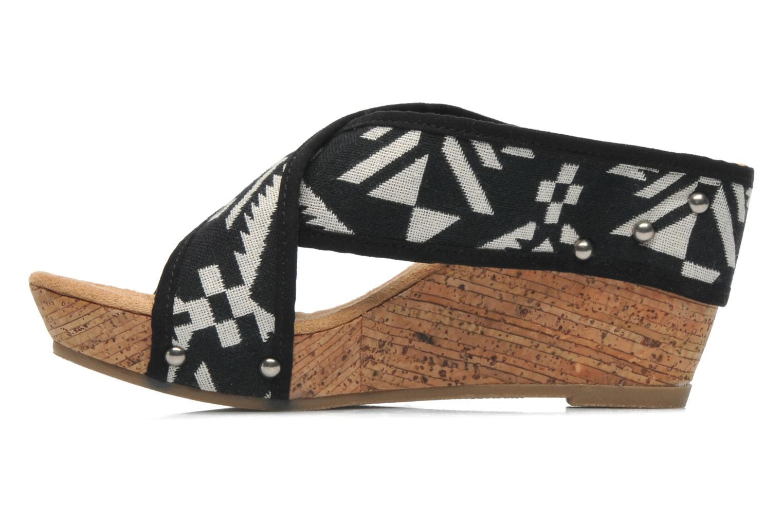 Sandales et nu-pieds Minnetonka Lainey Noir vue face