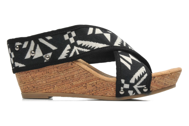 Sandales et nu-pieds Minnetonka Lainey Noir vue derrière