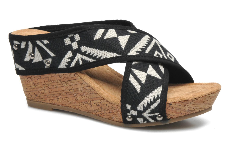 Sandales et nu-pieds Minnetonka Lainey Noir vue détail/paire