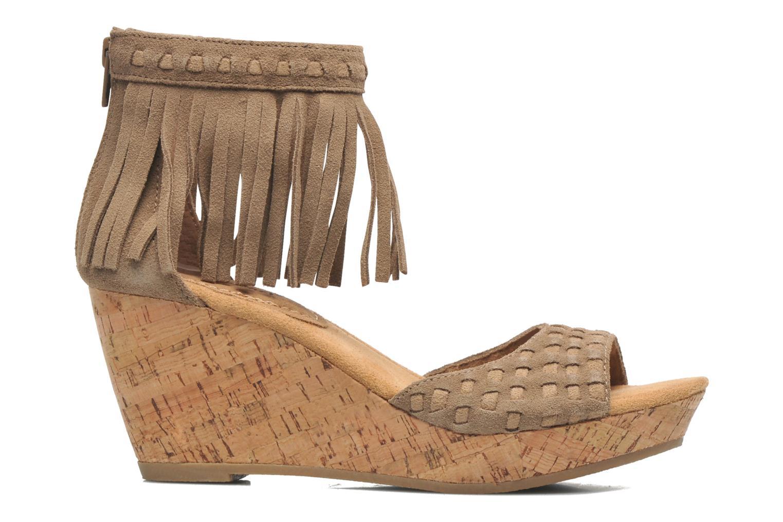 Sandales et nu-pieds Minnetonka Isabel Beige vue derrière