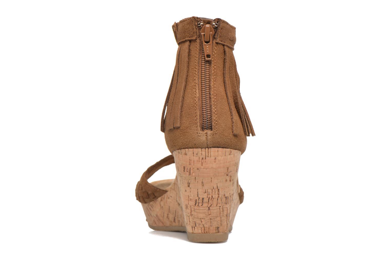 Sandales et nu-pieds Minnetonka Isabel Marron vue droite