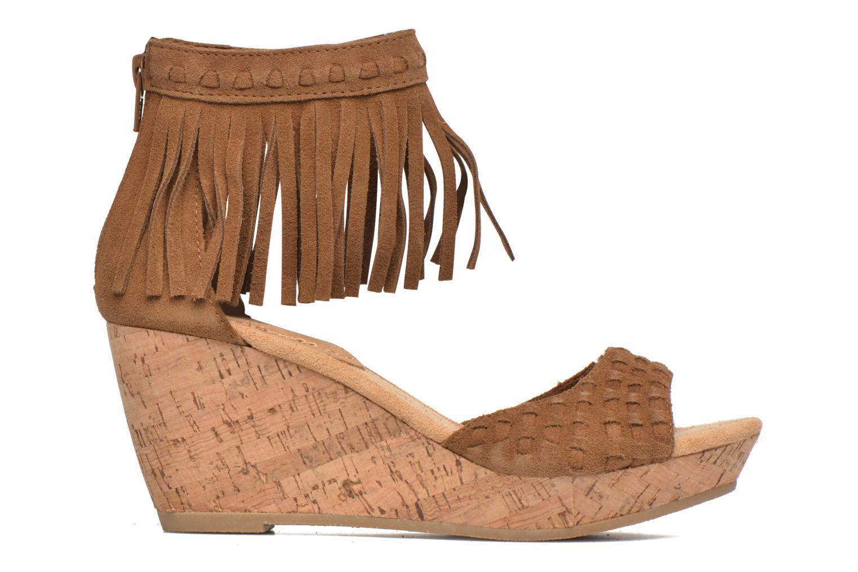 Sandales et nu-pieds Minnetonka Isabel Marron vue derrière