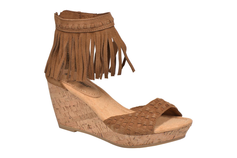 Sandales et nu-pieds Minnetonka Isabel Marron vue détail/paire