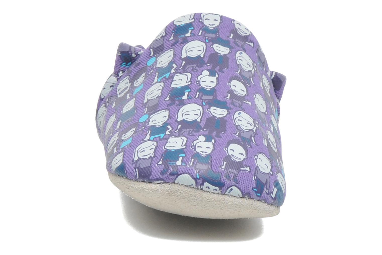 Chaussons Poco Nido PEOPLE Violet vue portées chaussures