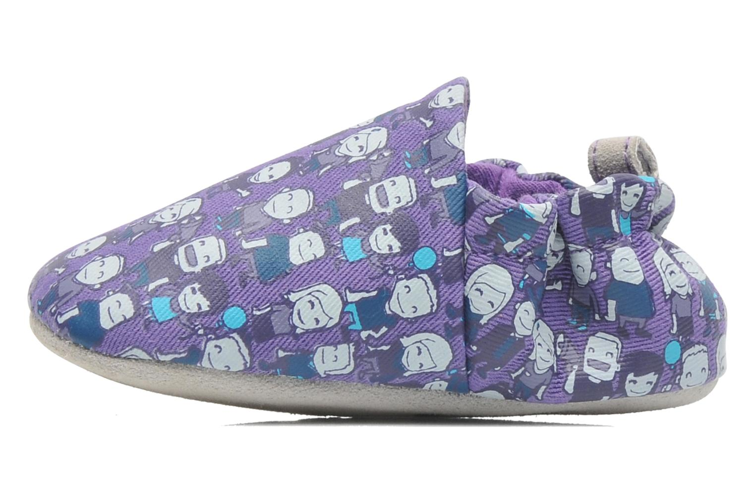 Slippers Poco Nido PEOPLE Purple front view