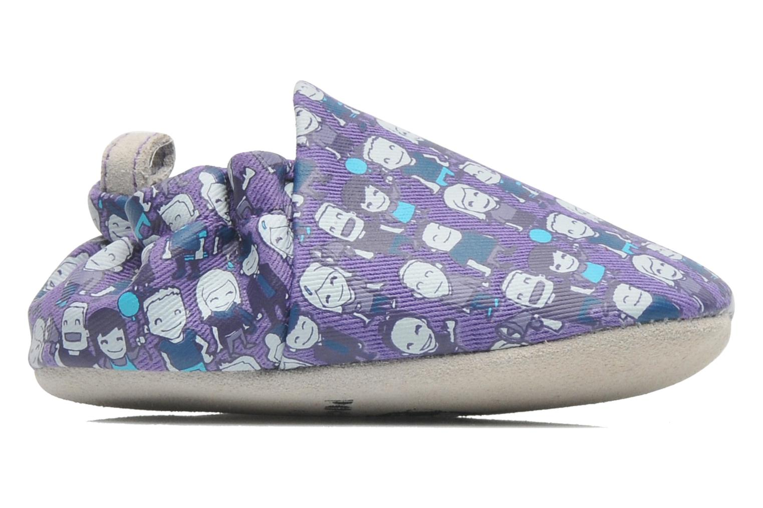 Slippers Poco Nido PEOPLE Purple back view