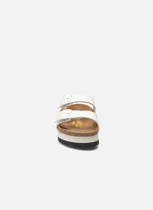 Clogs og træsko Papillio Arizona Flor W Hvid se skoene på