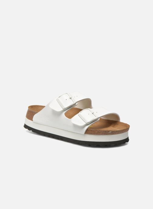 Clogs og træsko Papillio Arizona Flor W Hvid detaljeret billede af skoene