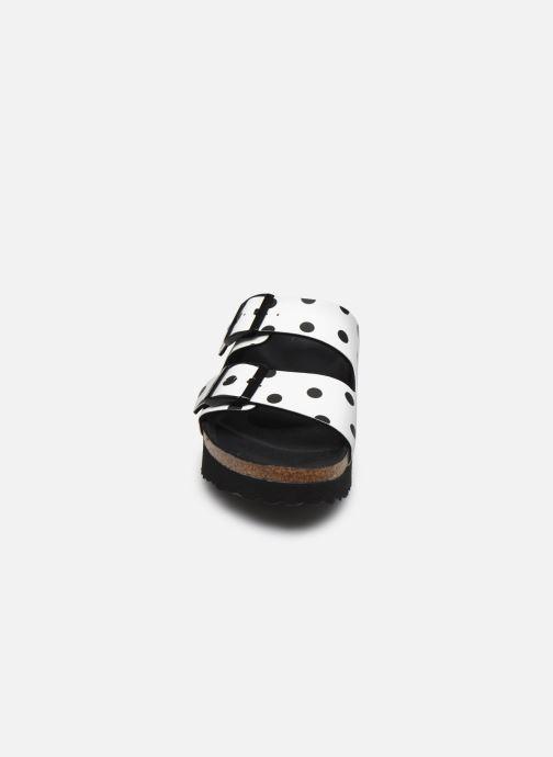 Clogs & Pantoletten Papillio Arizona Flor W weiß schuhe getragen