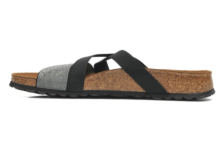 Wedges Papillio Cosma Textile Zwart voorkant