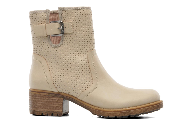 Stiefeletten & Boots Esprit Saki Bootie 018 beige ansicht von hinten
