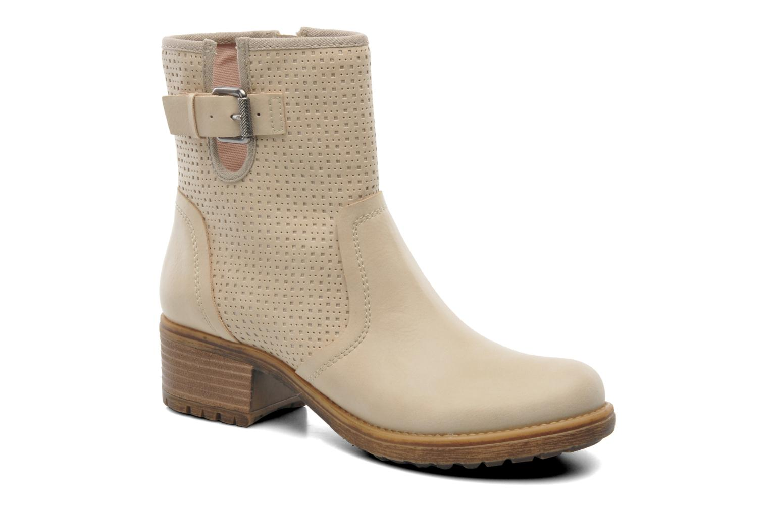Ankle boots Esprit Saki Bootie 018 Beige detailed view/ Pair view
