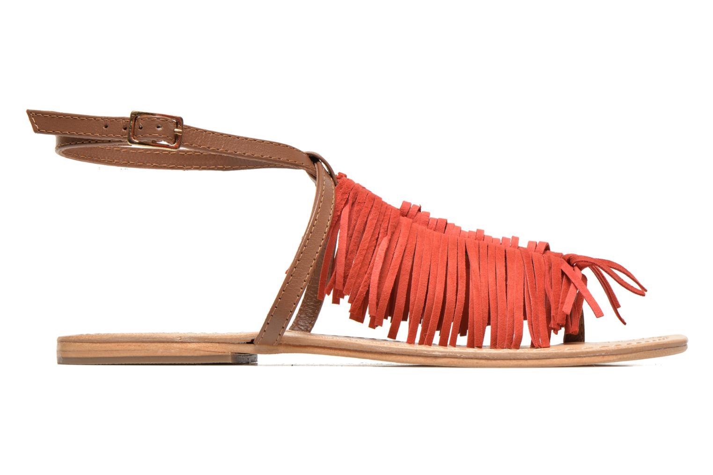 Sandales et nu-pieds Tormaline Playa Rouge vue derrière